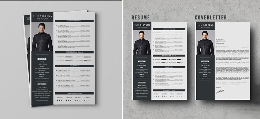 full photo resume