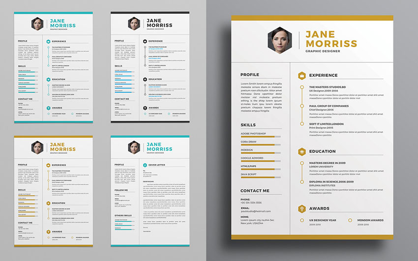 hexagon resume