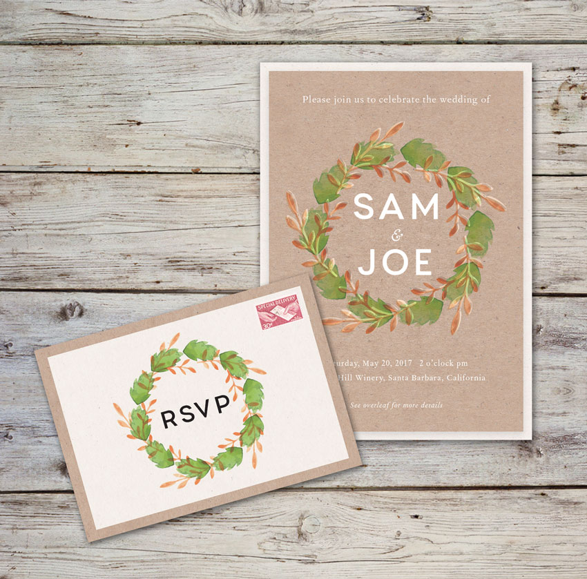 How to Create a Rustic Wedding Invitation in Adobe InDesign