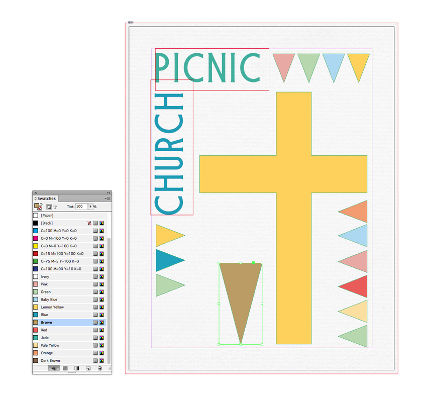 How to Create a Family-Friendly Flyer for a Church Event in Adobe InDesign