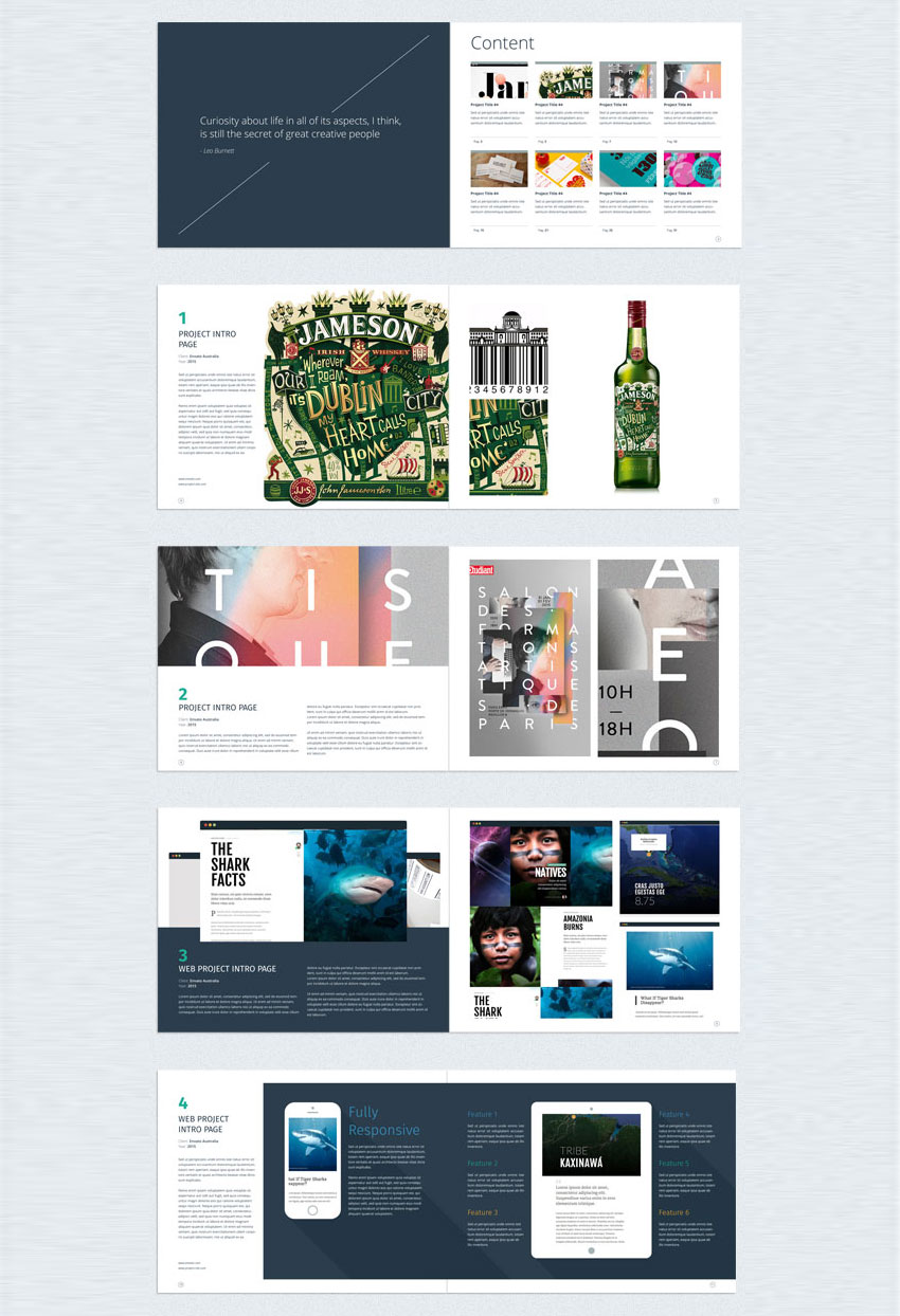 25 indesign templates every designer should own for Indesign interior