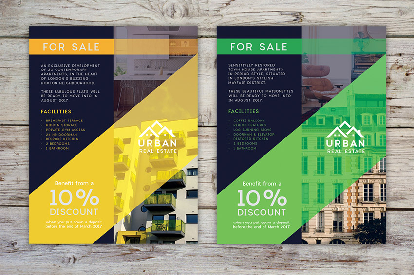 How To Design A Stylish Real Estate Flyer In Adobe Indesign