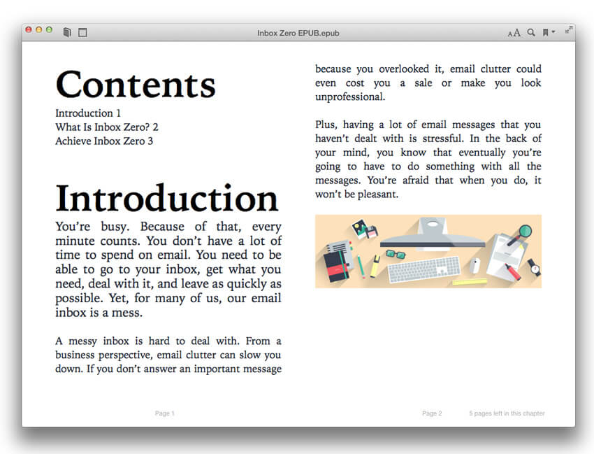 How to create an ebook in adobe indesign epub exported exported epub fandeluxe Document