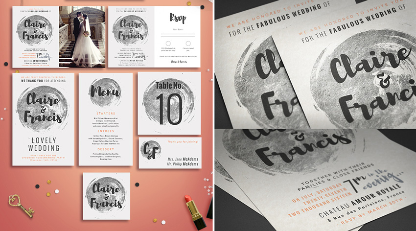 wedding invite template