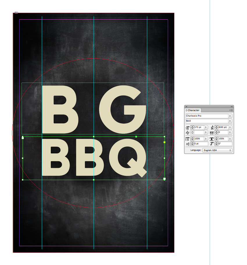 How to Create a Chalkboard BBQ Poster in Adobe InDesign