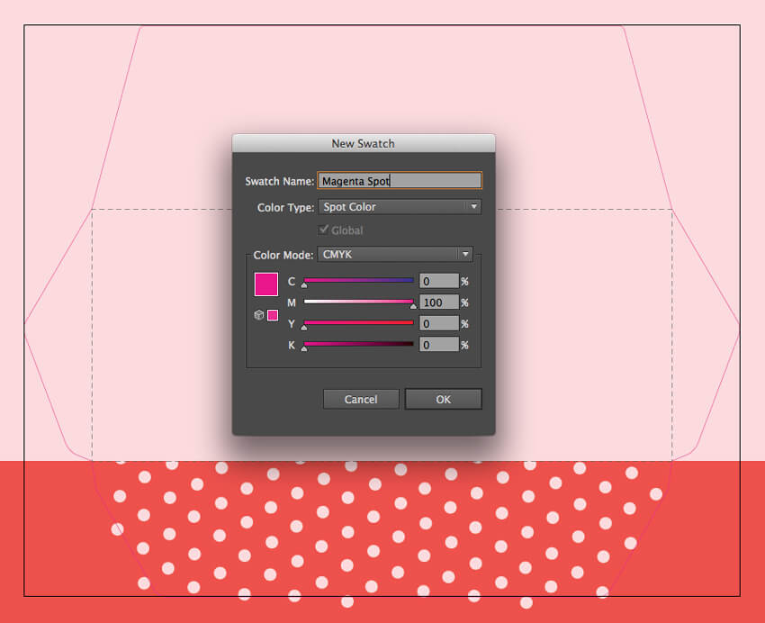 how to create a box on indesign