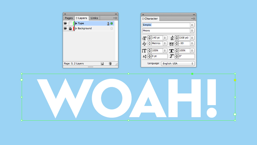 How to Create a Quick Pop Art Type Effect in Adobe InDesign