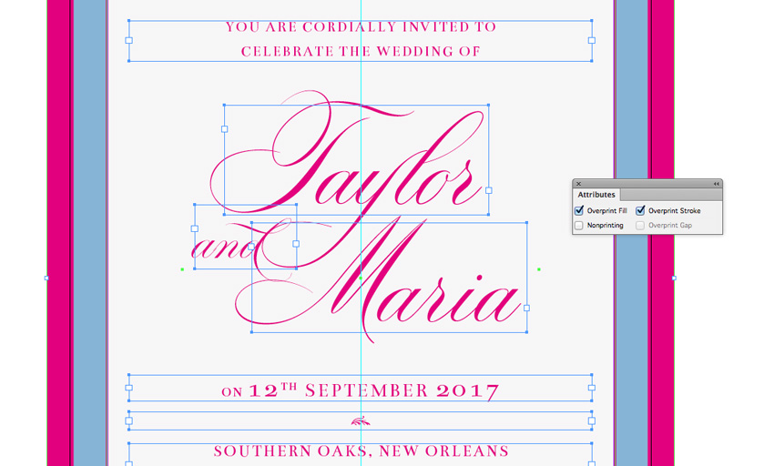 How to Create a Rococo Style Wedding Invite in Adobe InDesign