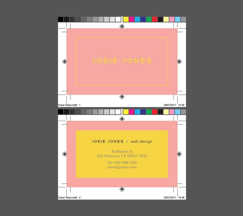 How to create a great business card in 10 steps in adobe indesign how to customize your business card with an image colourmoves
