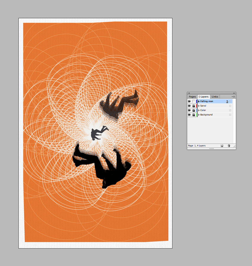 "How to Create a Tribute Poster to the Hitchcock Classic ""Vertigo"" in Adobe InDesign"
