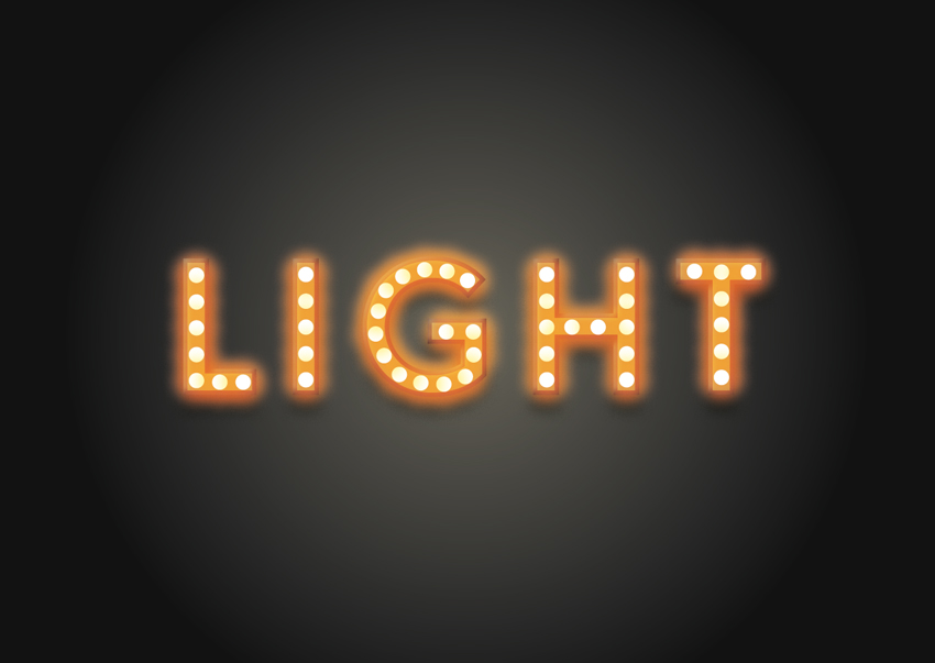 How to Create a Quick, Glamorous Light-Bulb Text Effect in Adobe InDesign