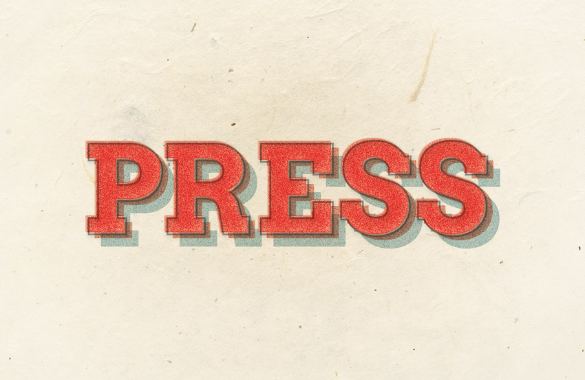 How to Create a Quick Letterpress Type Effect in Adobe InDesign