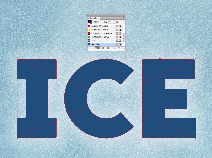 How to Create an Ice Text Effect in Adobe InDesign