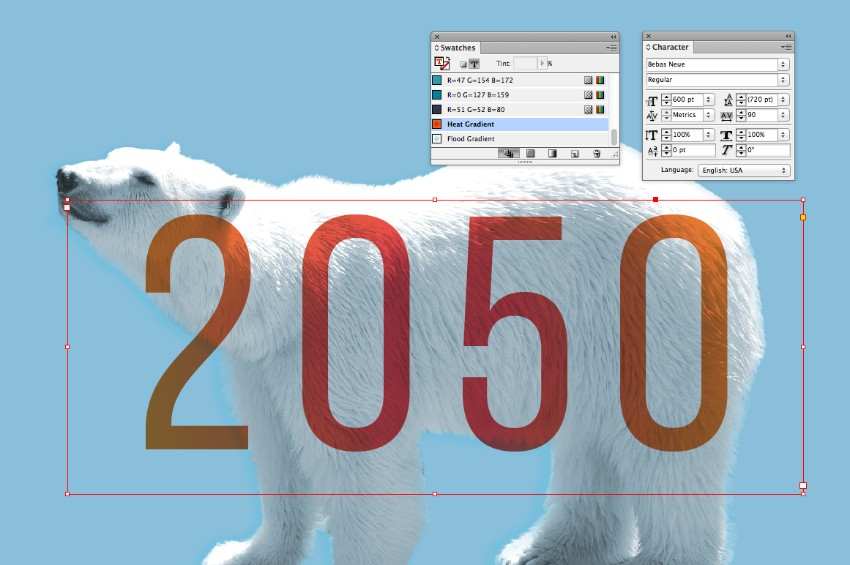 how to change opacity in indesign