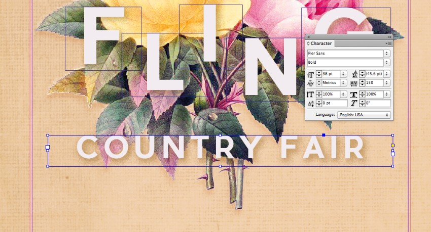 How to Create a Vintage Botanical Flyer in Adobe InDesign