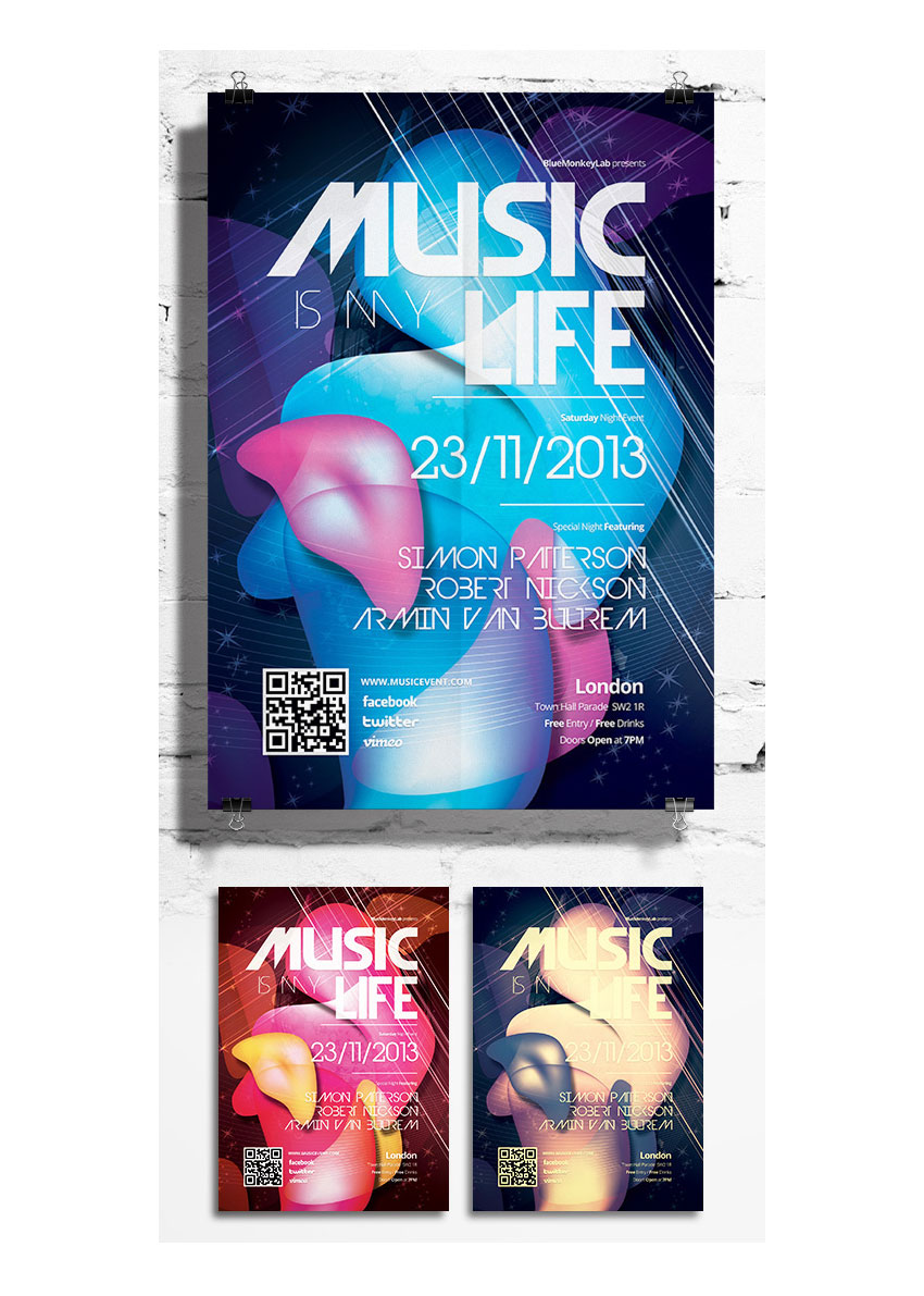 10 Top Tips for Designing Music Festival Posters