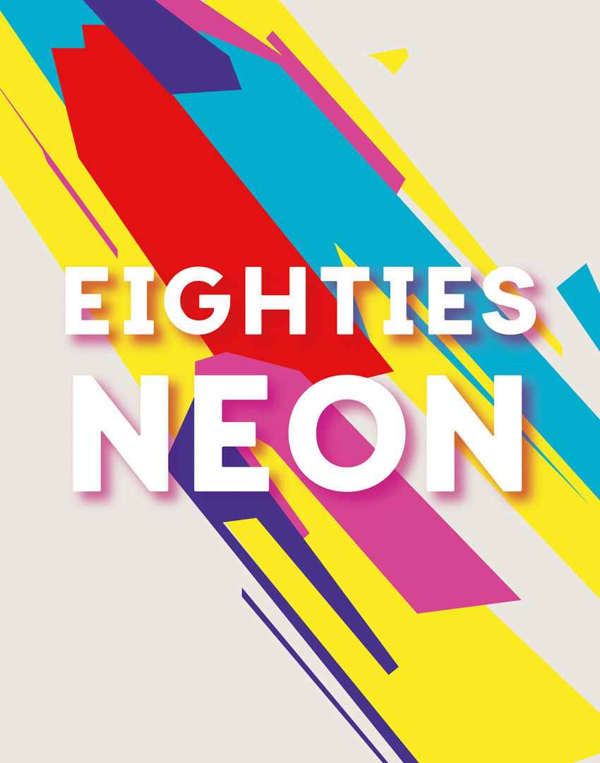 eighties neon