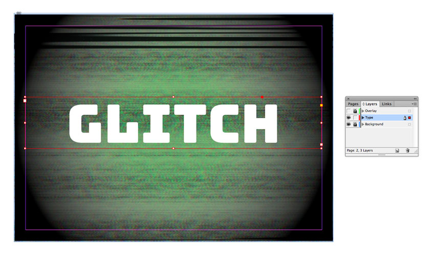 How to Create a Quick Retro Video Glitch Text Effect in