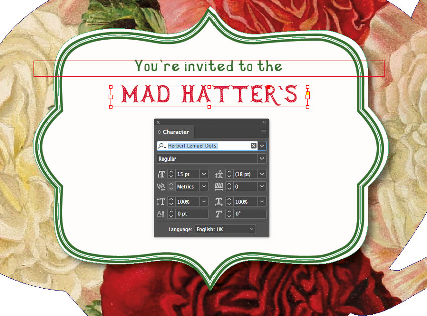 mad hatters text
