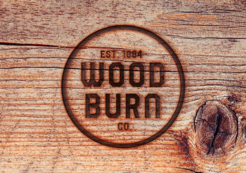 How to Create a Quick Burnt Wood Text Effect in Adobe InDesign