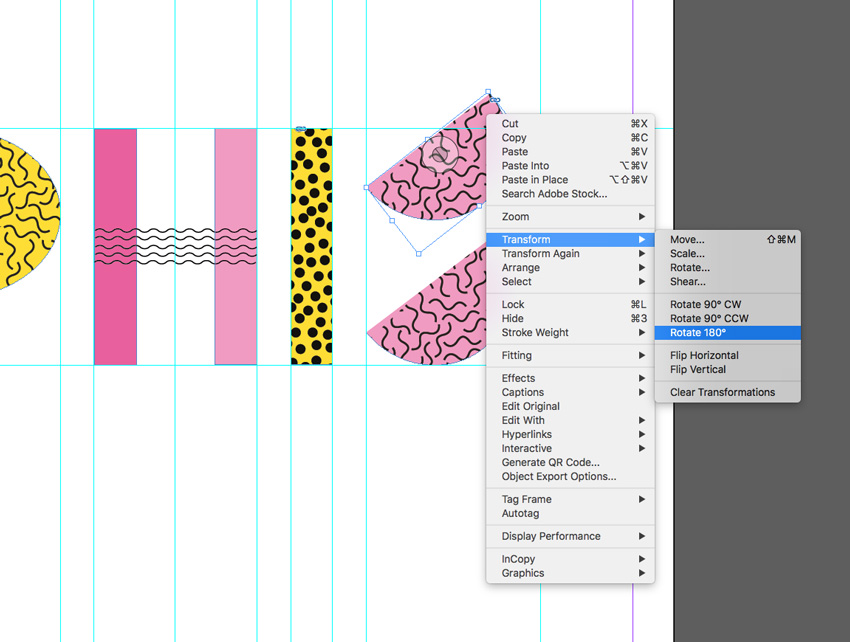 Quick Tip: How to Create a Memphis Style Text Effect in Adobe InDesign