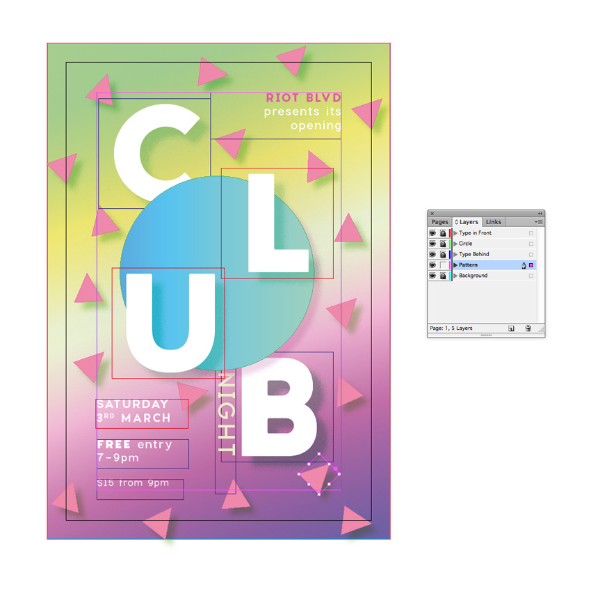 club flyer tutorial
