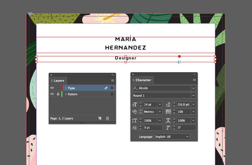 type layer