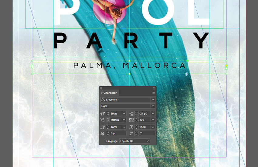 how to create stroke with different colours indesign