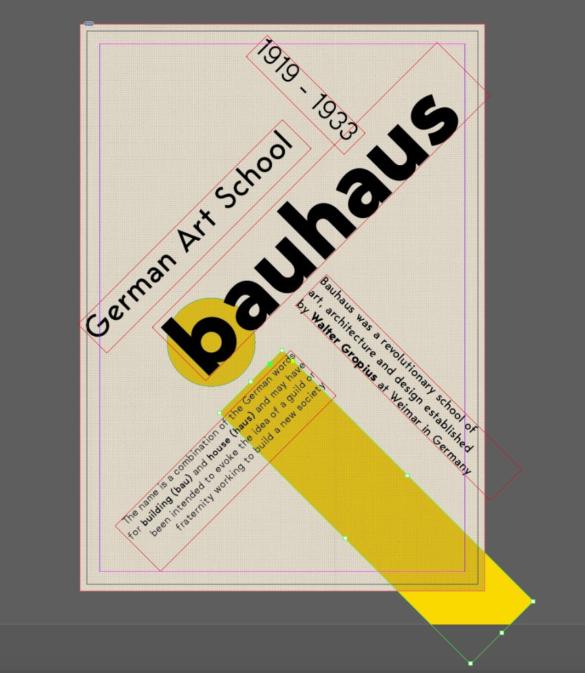 How to Create a Bauhaus Poster in Adobe InDesign