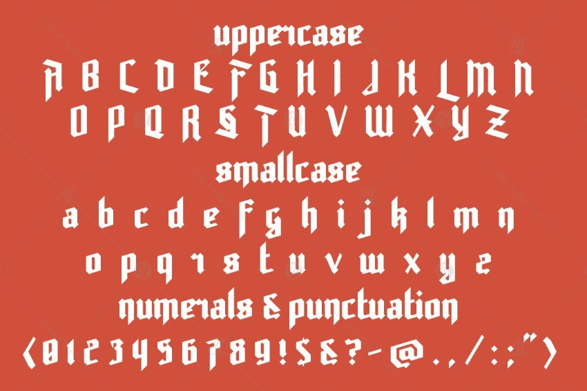 30 Best Blackletter and Gothic Fonts for Designers