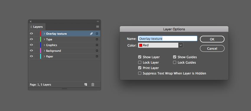 overlay texture layer