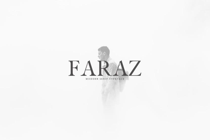 faraz typeface