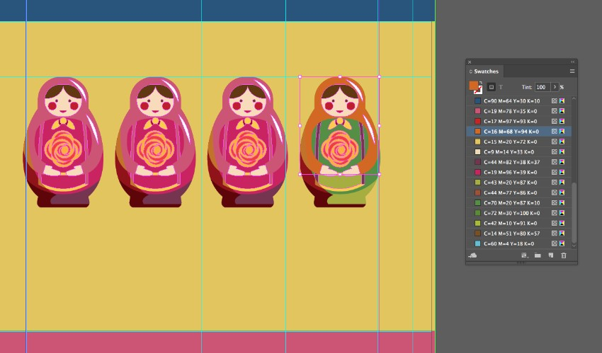 how to create a shape indesign