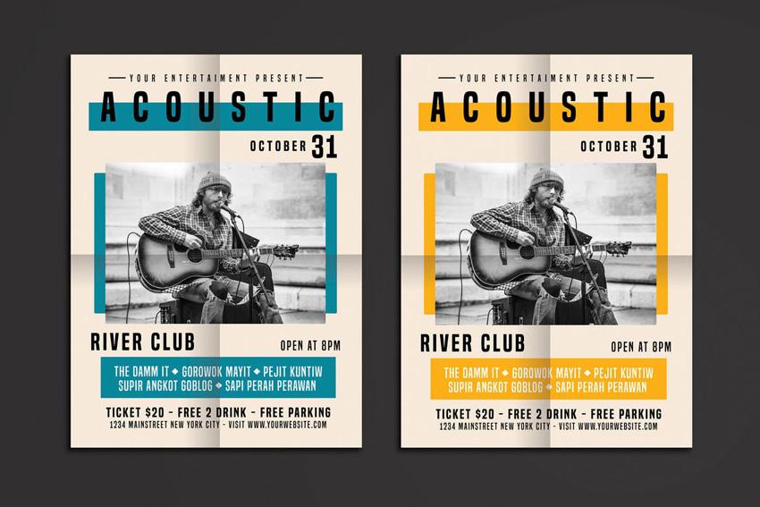acoustic flyer