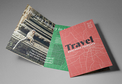 how to make a travel brochure