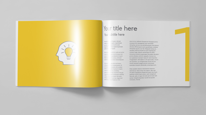 How To Make A Bi Fold Brochure In Indesign