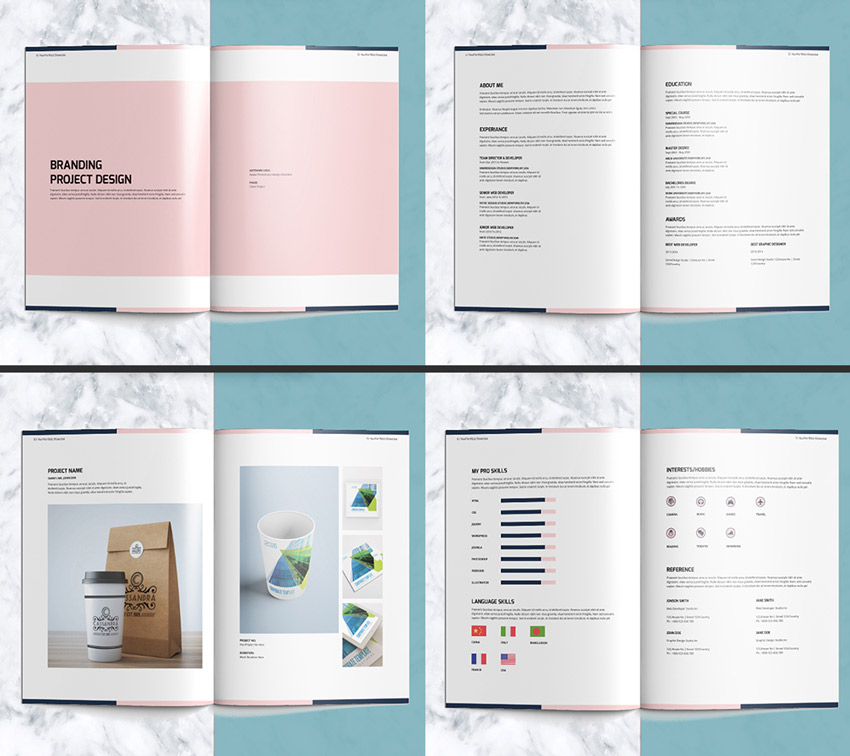 Portfolio Layout Templates: 50+ InDesign Templates Every Designer Should Own