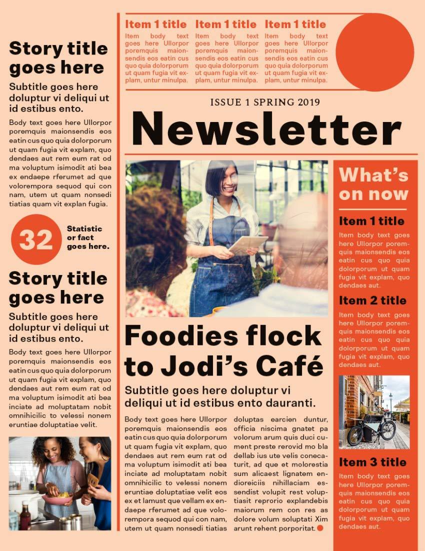 final newsletter