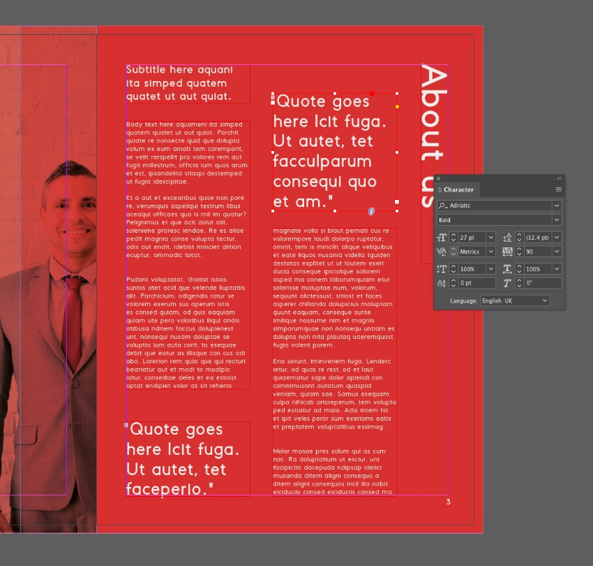 How to Make an InDesign Report Template