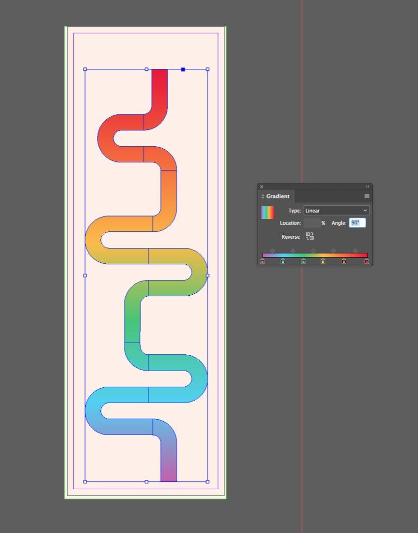 infographic gradient