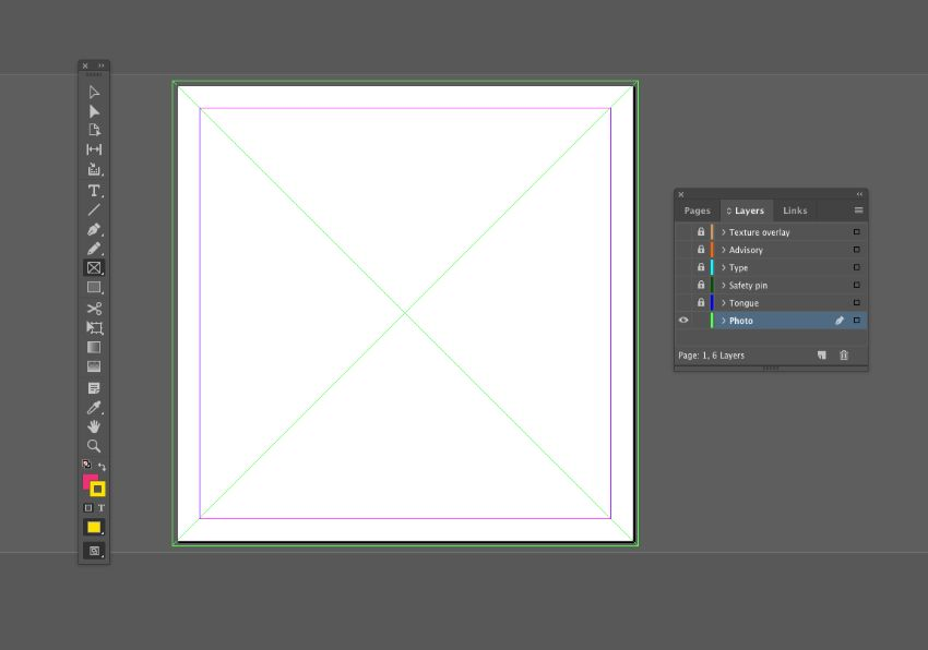 rectangle frame tool