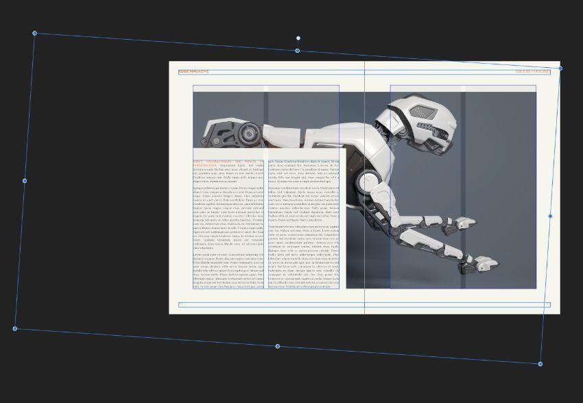 rotate image frame