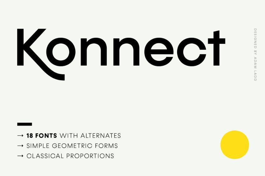 konnect font