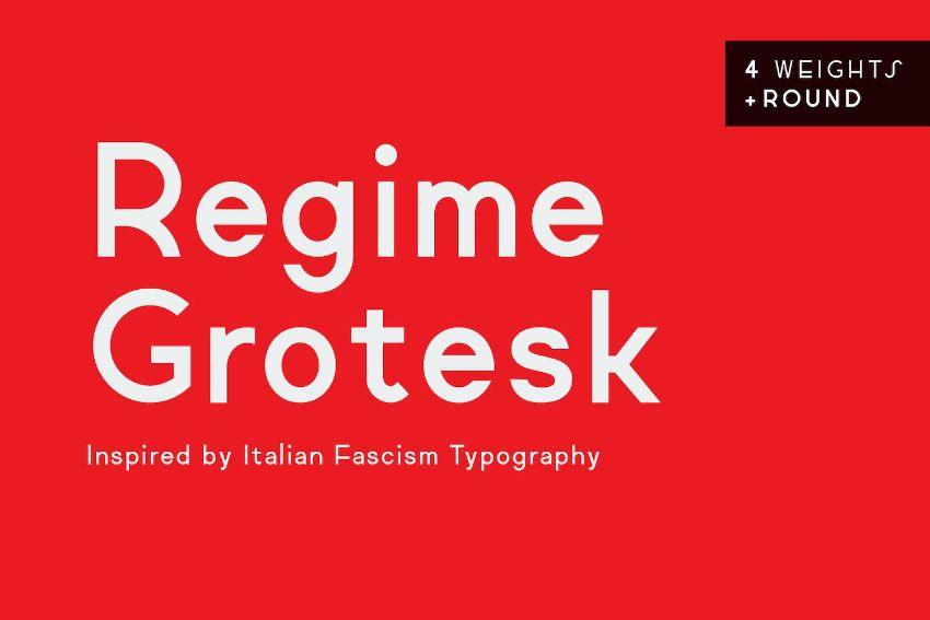 regime grotesk