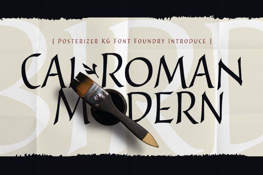 cal roman modern