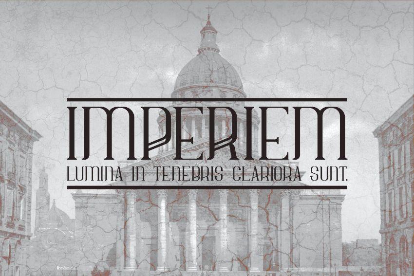 imperiem font