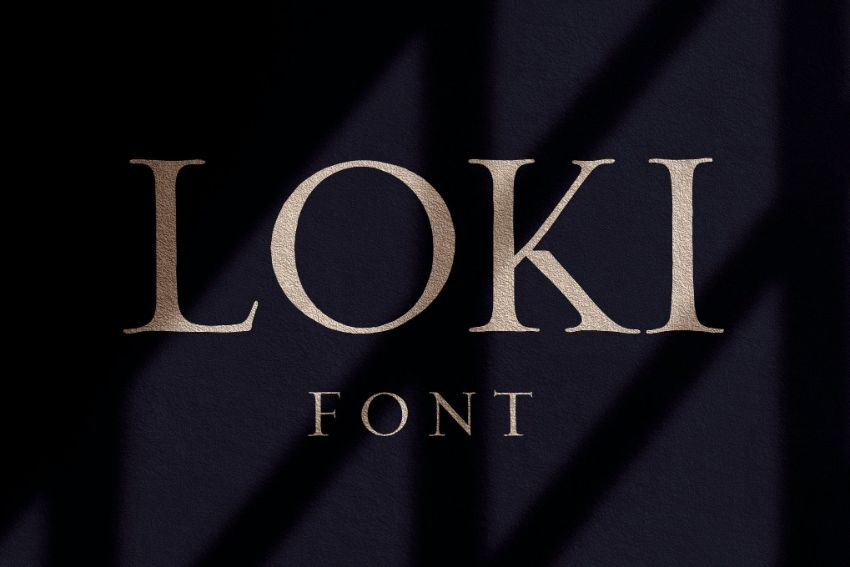 loki font
