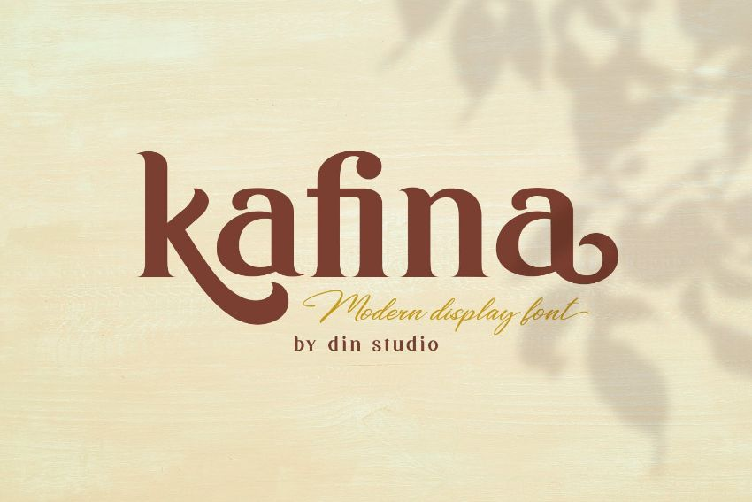 kafina font