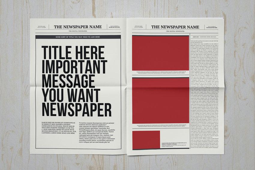 classic newspaper