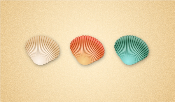 You Can Use These Seashells In Your Illustrations This Summer And If You  Decide To Make Them, Please Share Your Version With Us.